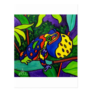 Frog Prince by Piliero Postcard