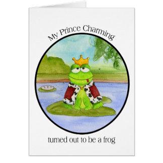 Frog Prince Card 2