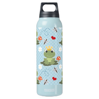 Frog Prince Charming BPA Free Insulated Water Bottle