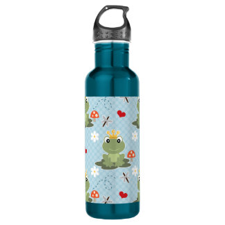 Frog Prince Charming BPA Free Stainless Steel Water Bottle