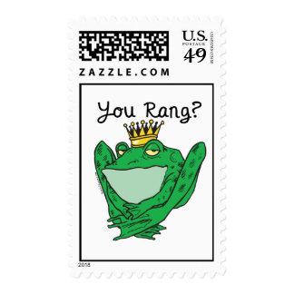 Frog Prince Charming Postage Stamp