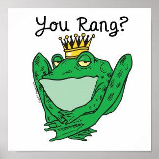 Frog Prince Charming Poster