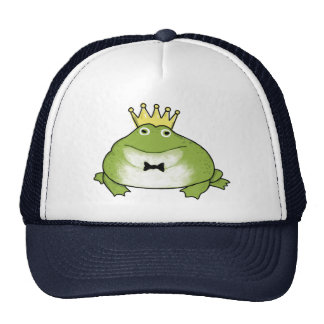 Frog Prince - Cool Crowned Amphibian Trucker Hat