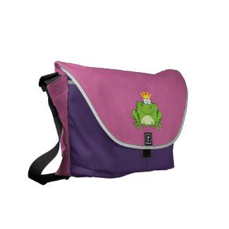 Frog Prince Courier Bag