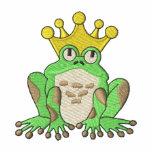 Frog Prince Embroidered Shirt