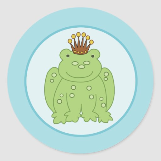 Frog Prince Envelope Seals / Toppers 20