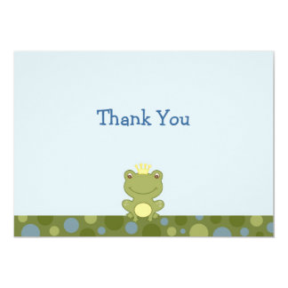 Frog Prince Frog Froggy Thank You Note Cards