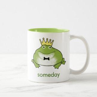 Frog Prince - Funny Toad Waits for your Kiss Mugs
