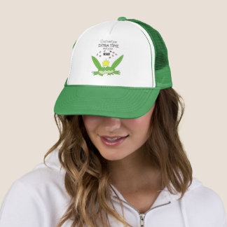 Frog Prince Green Kiss Love Song Words Funny Cute Trucker Hat