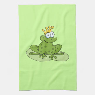 Frog Prince Hand Towels