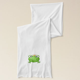 Frog Prince. Happy Frog. Scarf