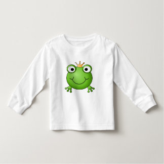 Frog Prince. Happy Frog. T-shirts