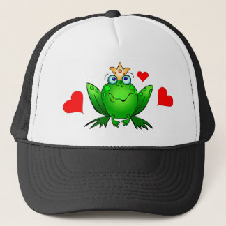 Frog Prince Hearts Hat