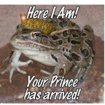 "Frog Prince - ""Here I Am"" Photo Cutouts"