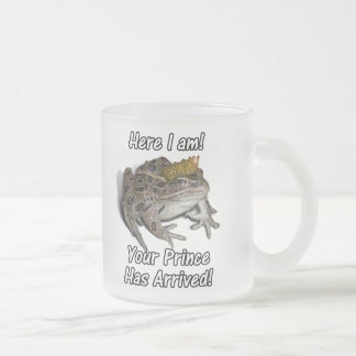 "Frog Prince ""Here I am, Your Prince Has Arrived!"" Coffee Mug"