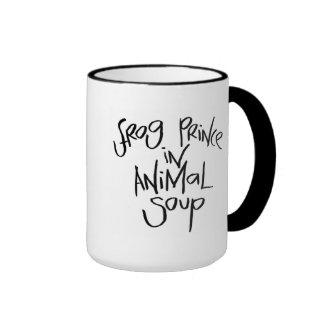 Frog Prince In Animal Soup Ringer Mug
