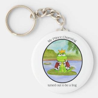 Frog Prince Keychain