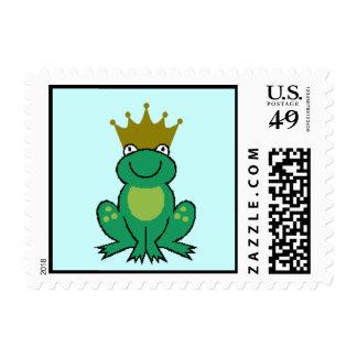 Frog Prince Postage