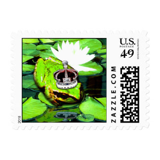 Frog Prince Postage Stamps