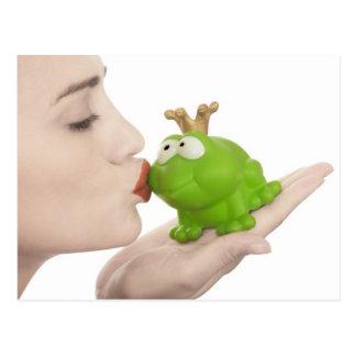 Frog prince post card