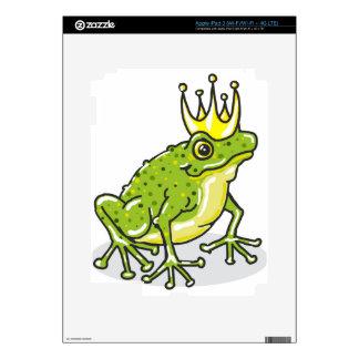 Frog Prince Princess Sketch Decal For iPad 3
