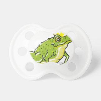 Frog Prince Princess Sketch Pacifier