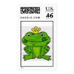 Frog Prince Stamp