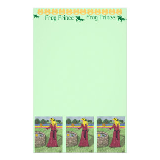 Frog Prince Stationery Paper