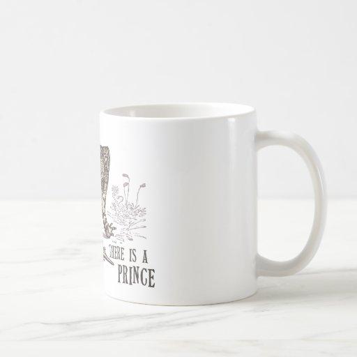 Frog prince taza de café