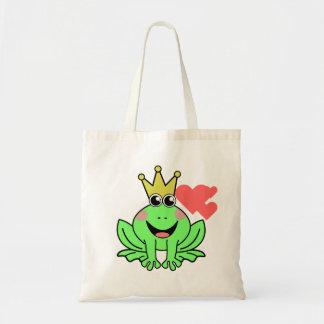 Frog Prince Tote Bag