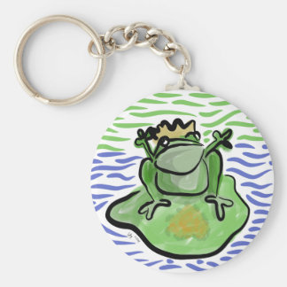 Frog Prince Valentines Day Keychain