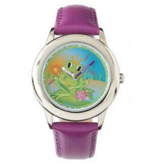 Frog Prince Wrist Watches