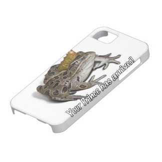 "Frog Prince - ""Your Prince Has Arrived!"" iPhone SE/5/5s Case"
