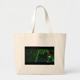 Frog Princess Canvas Bag