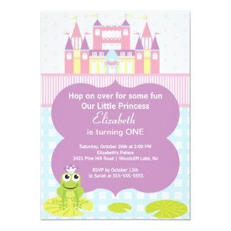 Frog Princess Birthday Party Invitation