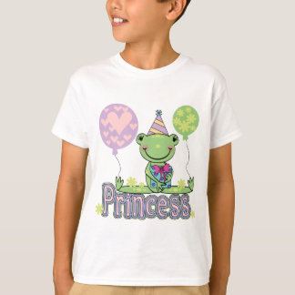 Frog Princess Birthday Tshirts and Gifts
