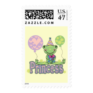 Frog Princess Birthday Tshirts and Gifts Postage