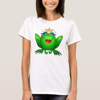 Frog Princess Charming Lady Frog T-Shirt