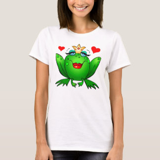Frog Princess Cute Green Fairy Tale Frog T-Shirt