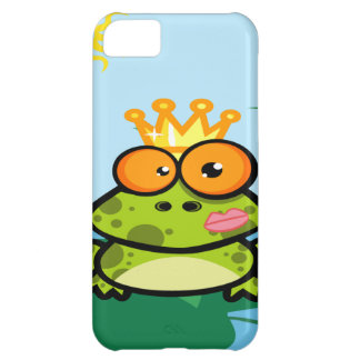 Frog princess in pond case for iPhone 5C