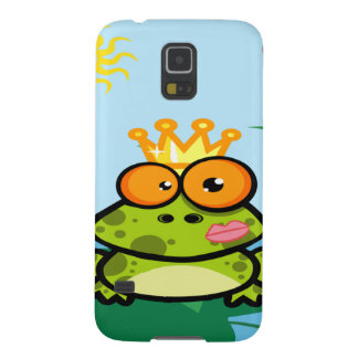 Frog princess in pond case for galaxy s5