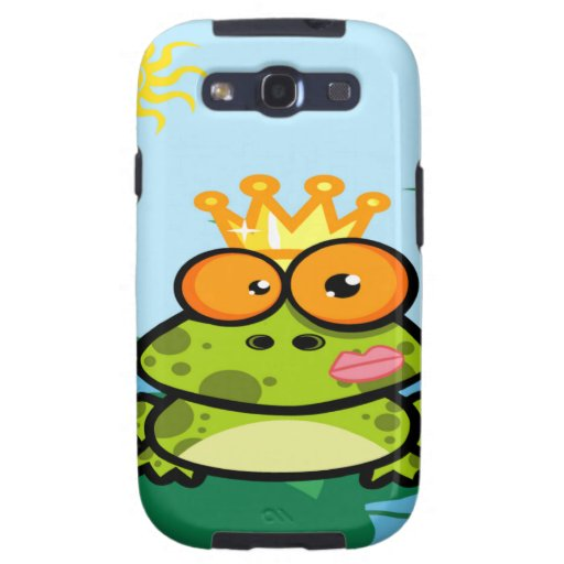 Frog princess in pond galaxy s3 cover