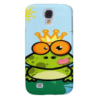 Frog princess in pond galaxy s4 case