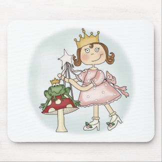 Frog Princess Mouse Pad