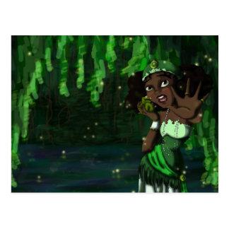 Frog Princess Postcard