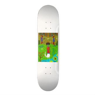 Frog Princess Skateboard Deck