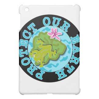 Frog Protect Our Earth and Gifts Cover For The iPad Mini