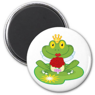Frog Queen Magnet