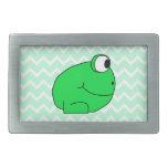 Frog. Rectangular Belt Buckles