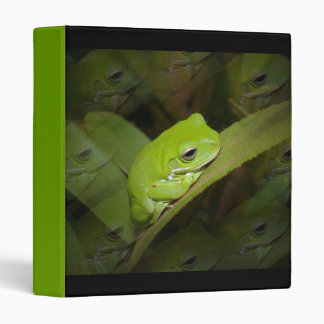 Frog Reflections Binder